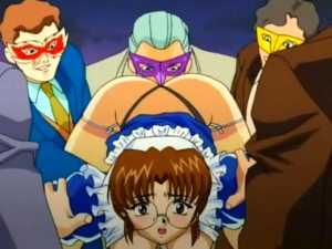 Chained Hentai Maids