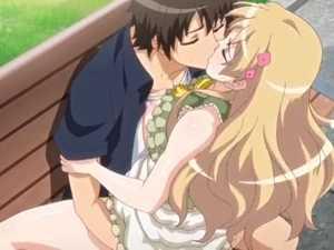 Hentai kiss in park - Eroge! H mo Game mo Kaihatsu Zanmai #1