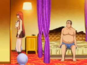 Old Anime Guy In Underwear - Sei Yariman Gekuen Enkou Nikki