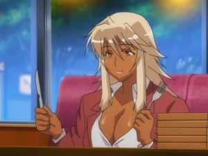 Tanned Blonde Hentai Girl - Sei Yariman Gekuen Enkou Nikki