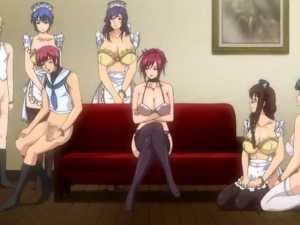 7 hentai girls waiting for sex - Starless #2