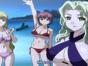 Sweet Hentai Bikini Girls - Resort Boin #2